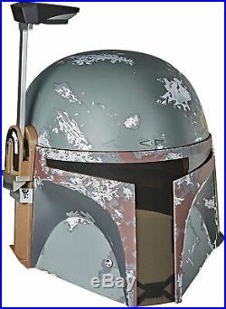Star Wars The Black Series Boba Fett Premium Electronic Helmet Brand new 2020