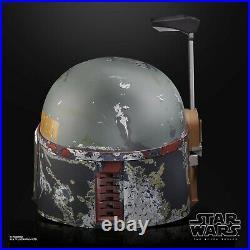 Star Wars The Black Series Boba Fett Premium Electronic Helmet Hasbro NEW