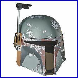 Star Wars The Black Series Boba Fett Premium Electronic Helmet, Official