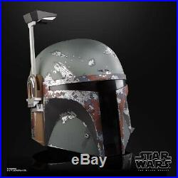 Star Wars The Black Series Boba Fett Premium Electronic Helmet PREORDER
