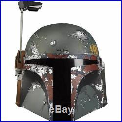 Star Wars The Black Series Boba Fett Premium Electronic Helmet Toy