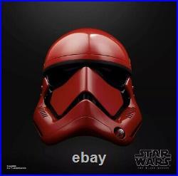 Star Wars The Black Series Galaxy's Edge Captain Cardinal Electronic Helmet
