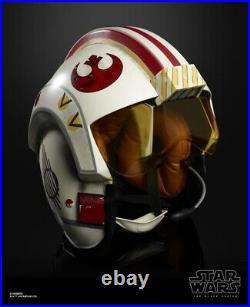 Star Wars The Black Series Luke Skywalker Electronic X-Wing Pilot Helmet