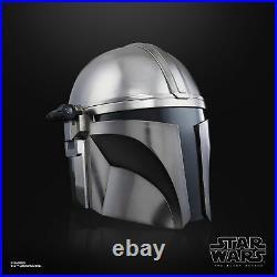 Star Wars The Black Series The Mandalorian Premium Electronic Helmet Roleplay