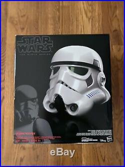 Star Wars The Black SeriesStormtrooper Voice Changer Helmet BRAND NEW