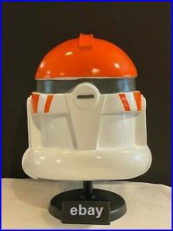 Star Wars The Clone Wars Ashoka Tano Clone Trooper Helmet custom 4 cosplay mint