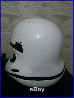Star Wars The Last Jedi First Order Executioner Stormtrooper Helmet Prop