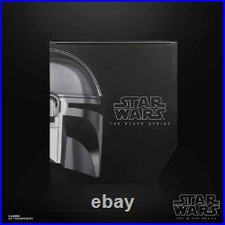 Star Wars The Mandalorian Helmet Premium Electronic Black Series Preorder