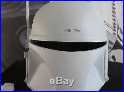 Star Wars Universe Imperial Bounty Hunter MANDALORIAN Mando Cosplay Helmet Prop