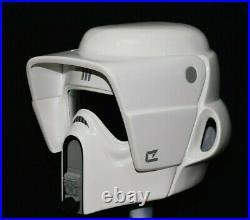 Star wars Biker Scout trooper helmet V3 Full size Armour prop stormtrooper NEW