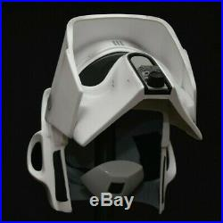 Star wars Biker Scout trooper helmet V3 Full size Armour prop stormtrooper NEW