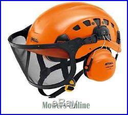 Stihl Vent Plus Arborist Helmet Set Chainsaw Protection 0000 883 9100