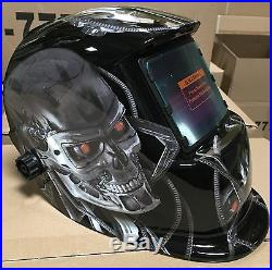 TMR Auto Darkening Welding Helmet grinding with sensitive & delay time control