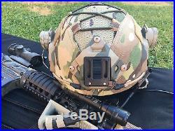 Tactical ops core FMA MARITIME Airsoft HELMET Go Fast HELMET OPSCORE + Comtacs