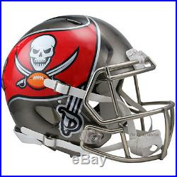 Tampa Bay Buccaneers Riddell NFL Full Size Authentic Speed Football Helmet