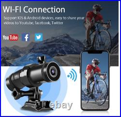 Techalogic DC-1 Cycling Cycle Road Safety'All in One' DUAL Lens Helmet Camera