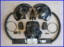 Tie Pilot Helmet Kit, Star Wars! INCLUDING HOSES