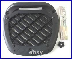 Two Helmet Universal TopBox-0888. Black. Quick Release-twin Helmet Box-56L