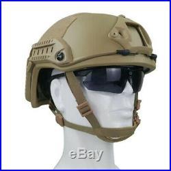 Uhmw-pe Size M Ballistic Iiia Bullet Proof Helmet Medium De