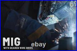 Unimig RAZOR 205 Mig Tig Smart Set Bundle Welder, Helmet, Gloves, Wire, Trolley