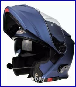 VIPER RS-V171 BLUETOOTH FLIP FRONT MOTORBIKE MOTORCYCLE HELMET INC PINLOCK Med