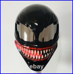 Venom helmet / custom motorcycle helmet DOT & ECE Free international shipping
