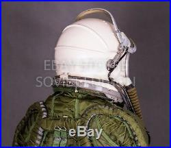 Vintage fighter pilot helmet size XL 3 GSH-6 flight jet space air force Russian