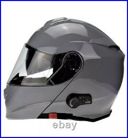 Viper Rs-v171 Bluetooth Flip Front Motorbike Motorcycle Helmet Inc Pinlock XL