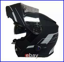 Viper Rs-v171 Bluetooth Flip Front Motorbike Motorcycle Helmet Medium