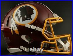 WASHINGTON REDSKINS NFL Riddell SPEED Full Size Replica Football Helmet