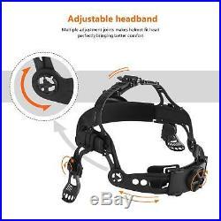 WFF Solar Auto Darkening Welding/Grinding Helmet shade 4 to 13 with 4 sensors