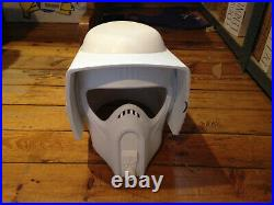 Wearable Star Wars Biker Scout Helmet Replica Prop 11 scale (TKP 70)