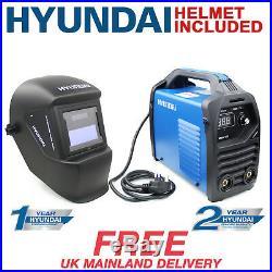 Welder Inverter 120A MMA 13 Amp Plug Arc Stick Welder + Welding Helmet HYUNDAI