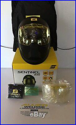 Welding Helmet ESAB SENTINEL A50 High Performance V. A. T Invoice and Warranty