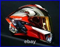 X14 X-Spirit III Motorcycle Full Face Helmet Hond CBR 1000RR SP Racing Helmet