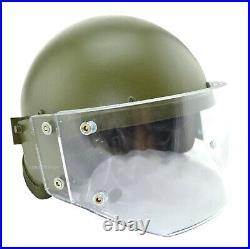 ZSH 1-2M Russian Helmet Replica with Vizor Olive Gearcraft for SOBR FSB